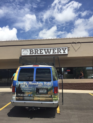 Colorado Springs Brewery Tour Bus
