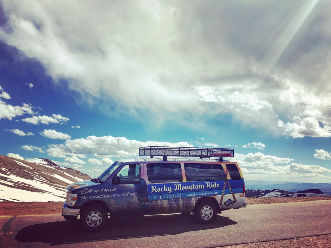 Transportation for Pikes Peak by Rocky Mountain Ride