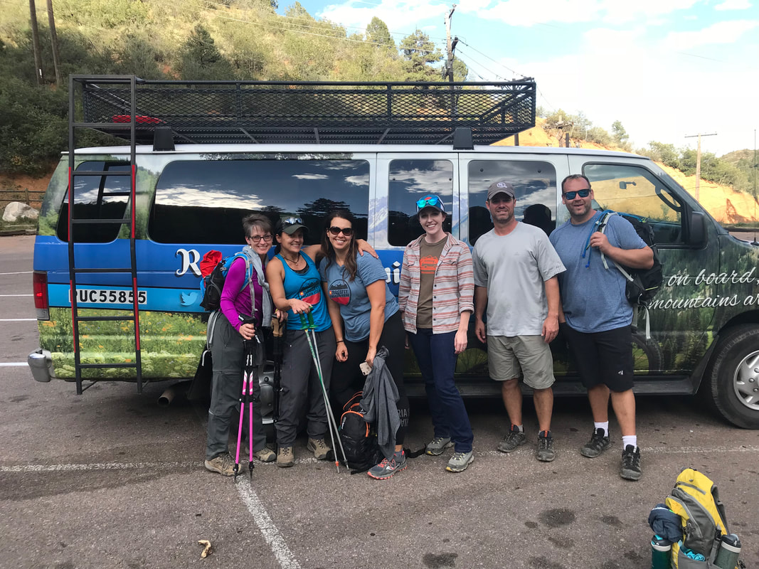 Pikes Peak Hiker Shuttles - Rocky Mountain Ride