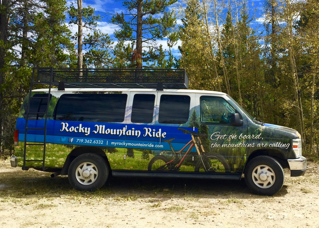 Rocky Mountain Ride Shuttle, getting the Colorado Springs community into the mountains!