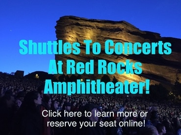 Colorado Springs Red Rocks Amphitheater Concert Shuttles