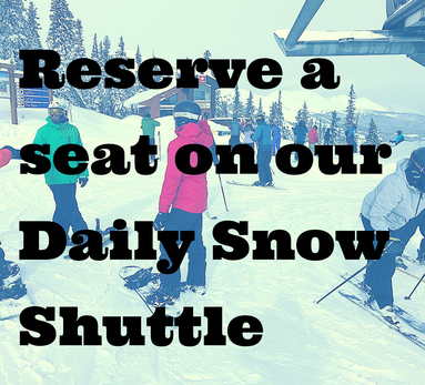Daily Snow Shuttle from Colorado Springs to Summit County
